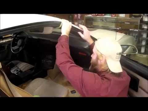 1982 1992 Camaro Body Hull Weatherseal Installation Video
