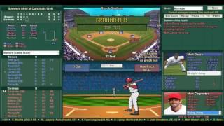 Baseball Mogul 2016 Brewers at Cardinals Game #9