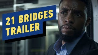 21 Bridges Trailer (2019) Chadwick Boseman