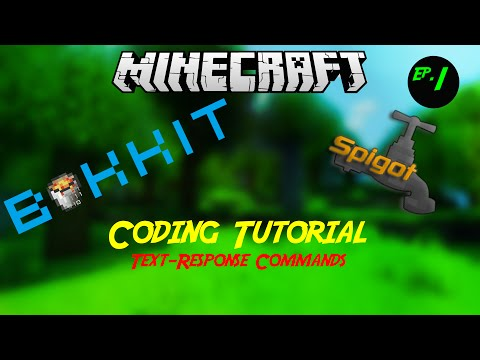 Minecraft: Setting Up A Server, Coding Plugins! [1.8.1]