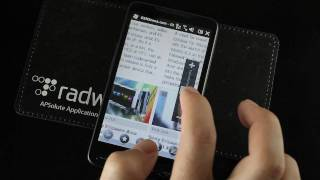 Web browsing on the HTC HD2