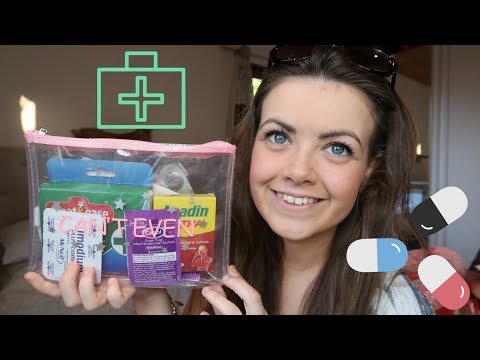 WHAT'S IN MY TRAVEL FIRST AID/MEDICAL KIT