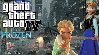 GTA-IV Frozen The Ballad of Gunfire