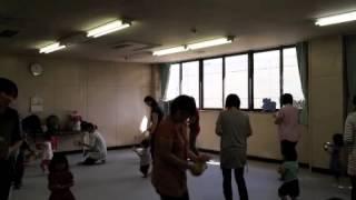 千葉市若葉区親子リトミック。 大人気で満員になった10:30〜のクラ...