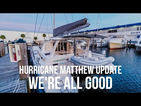 Our Hurricane Matthew Update - We're All Good