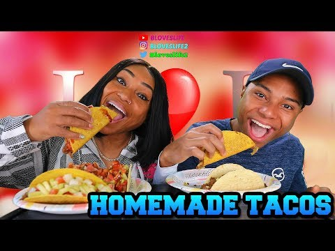 HOMEMADE TACOS WITH