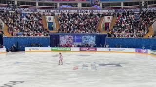 Александра Трусова Короткая программа Кубок первого канала по фигурному катанию 2021