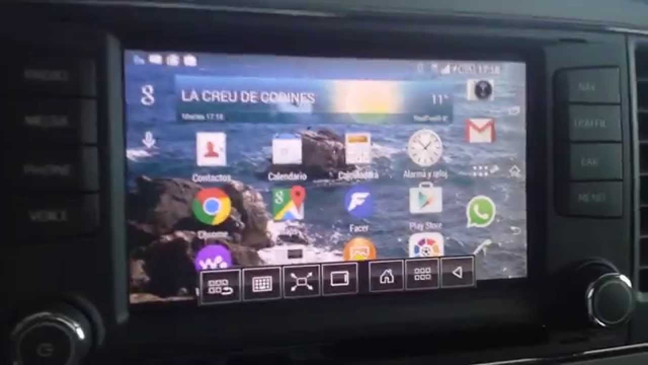 seat leon mk3 mirrorlink navi system high youtube. Black Bedroom Furniture Sets. Home Design Ideas