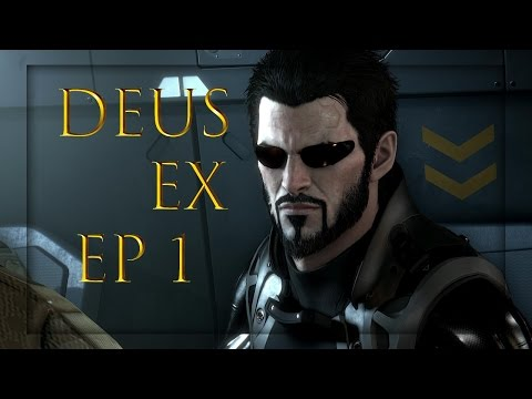 Deus Ex: Mankind Divided EP #1-The Learning Episode