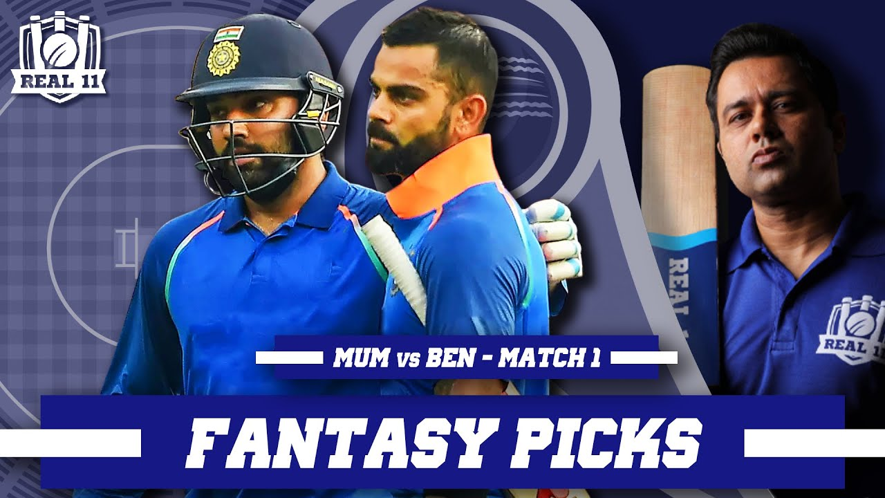 Can KOHLI go 1-0 up on ROHIT? | Real11 Fantasy Picks | MUM vs BEN - IND T20 League - Match 1