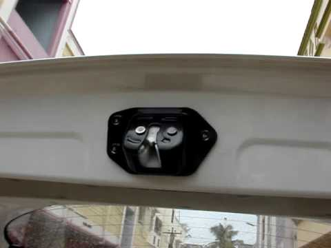 Nissan Micra Boot Door Youtube