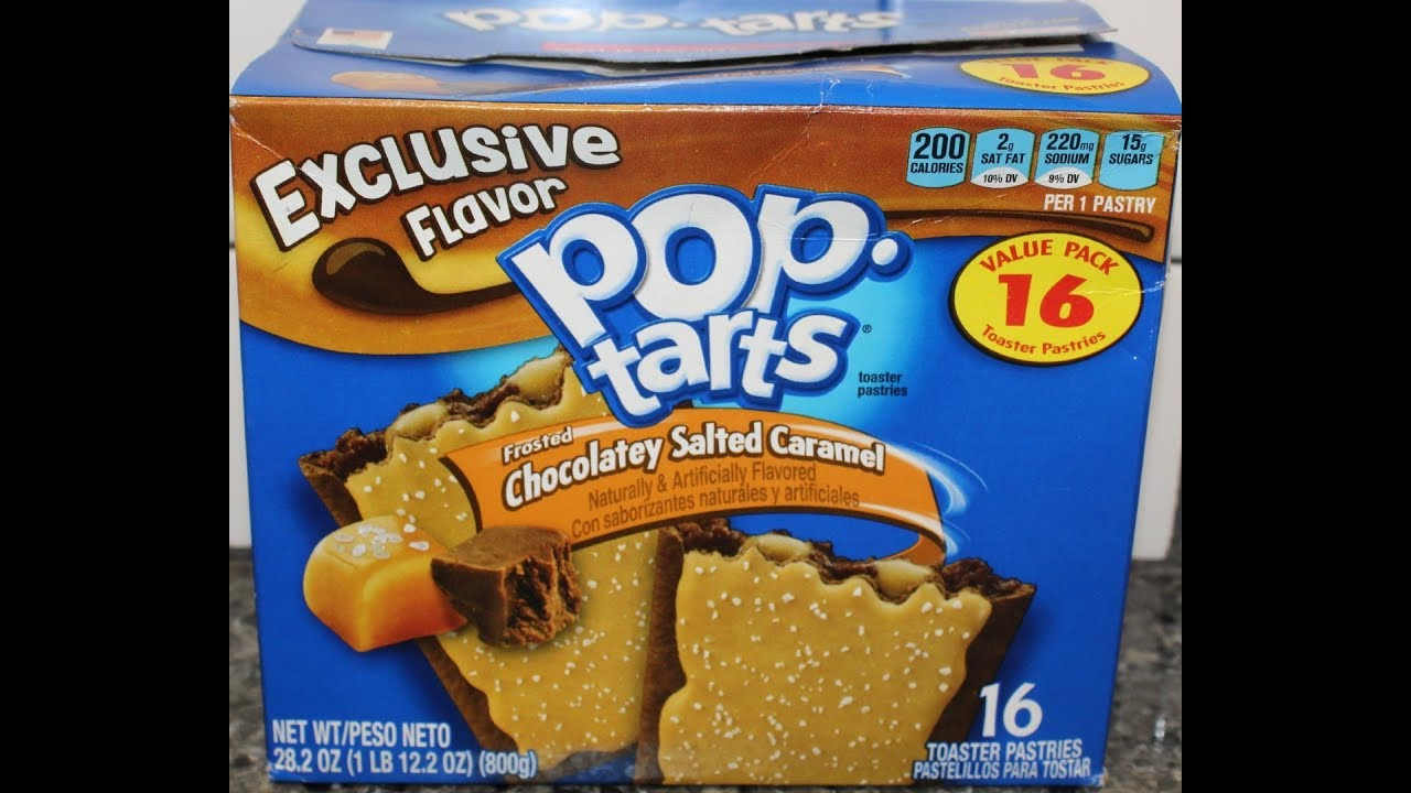 Chocolatey Salted Caramel Pop Tarts Review