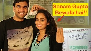 Sonam Gupta Bewafa hai!! By Lalit Shokeen Comedy - Wallpapers ...