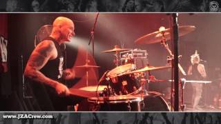 THE CASUALTIES - Unemployed DRUM CAM, KC Mostovna 2016