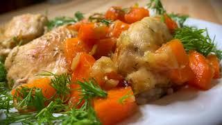 Жаркое из курицы. Простой рецепт курицы. Полезные рецепты от Татьяны Гладковой. Новый год 2021.