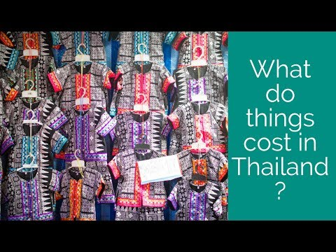 How Much Things Cost in Thailand!  Alison Prince | 0-$100k