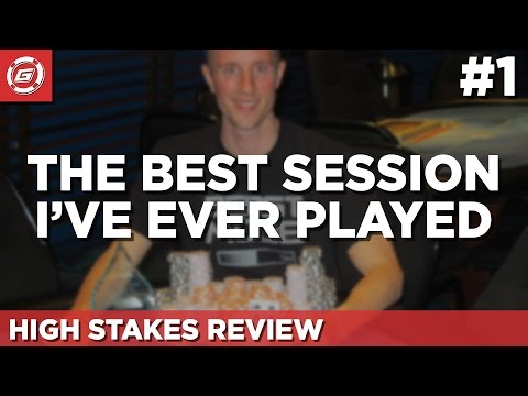 The Best Session I Ever Played - €7k Poker Tournament Review [Part 1]