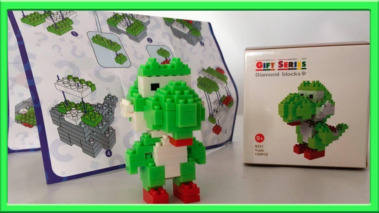 Yoshi De Nintendo Con Piezas Parecidas A Las De Lego Youtube