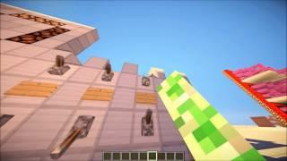 Minecraft Redstone-Taschenrechner