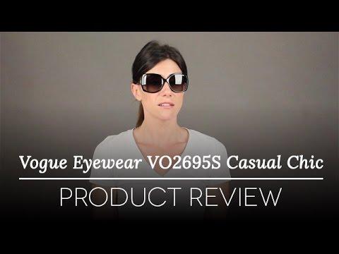Vogue Eyewear Sunglasses -  Vogue Eyewear VO2695S W44/11 Casual Chic Sunglasses Review