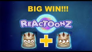 Reactoonz! 9 spins and two gargantoon hits!