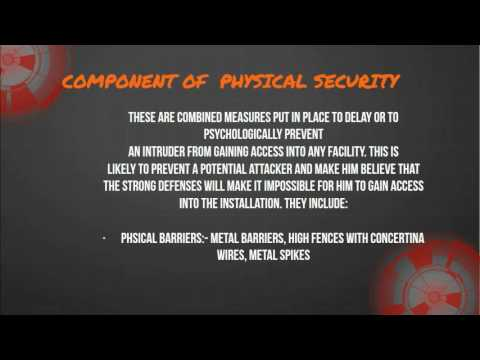 PHYSICAL SECURITY AND ACCESS C