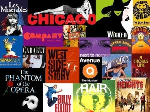 My Top 10 musical theatre songs by female characters.