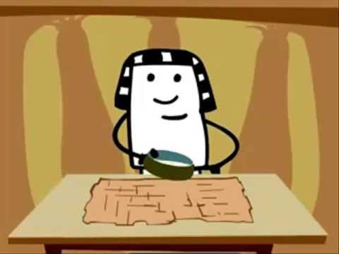 egyptian papyrus making animation youtube