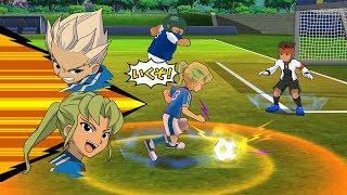 Inazuma Eleven Go Strikers 2013 Inazuma Japan Vs Inazuma Legend Japan Wii 1080p (Dolphin/Gameplay)