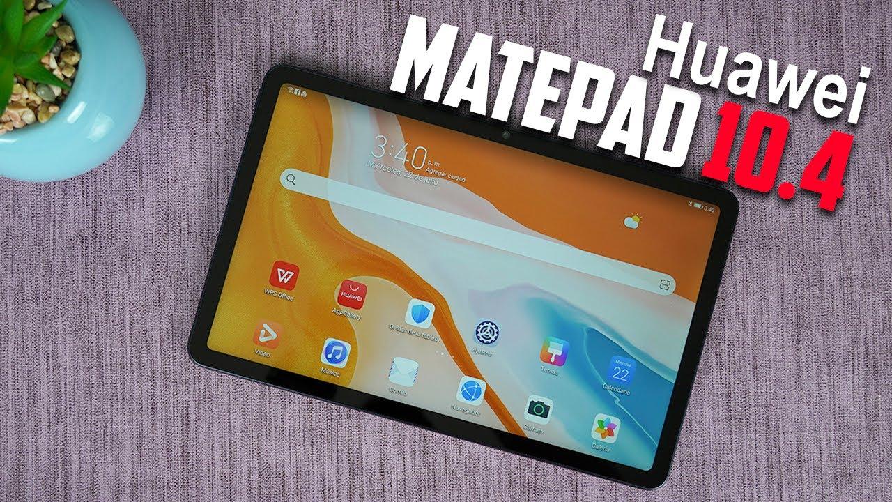 NUEVA Huawei MatePad 10.4 2020 Review Español   Tecnocat - YouTube
