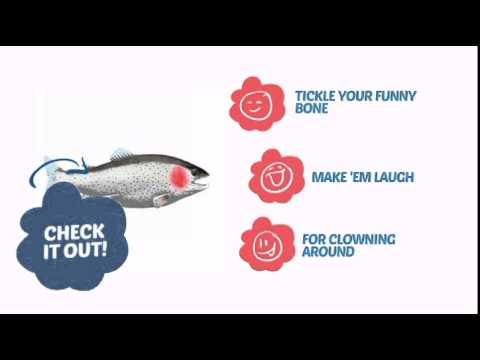 Rubber Fish Prop - ClownAntics.com