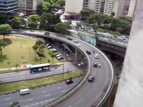 Commuter Traffic Day Sao Paulo Brazil Pov Driving Stock ... |Sao Paulo Brazil Traffic