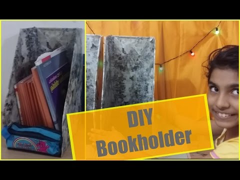 DIY Bookholder - How to organize your daily books