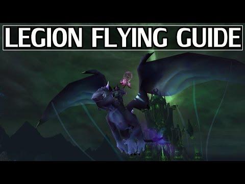 How to Unlock Flying in Legion