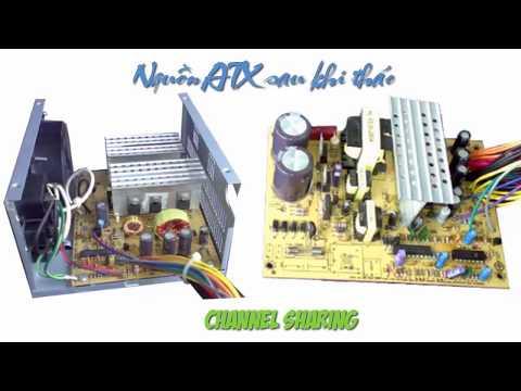 Hướng dẫn sửa nguồn máy tính - Nguồn ATX | Bài 1 : Phân tích sơ đồ khối
