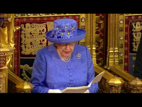 PM May presents bills in Queen's Speech to take Britain out of EU
