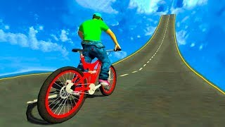 BMX Stunts Racer 2019 - Gameplay Android game - Bike Racing Games