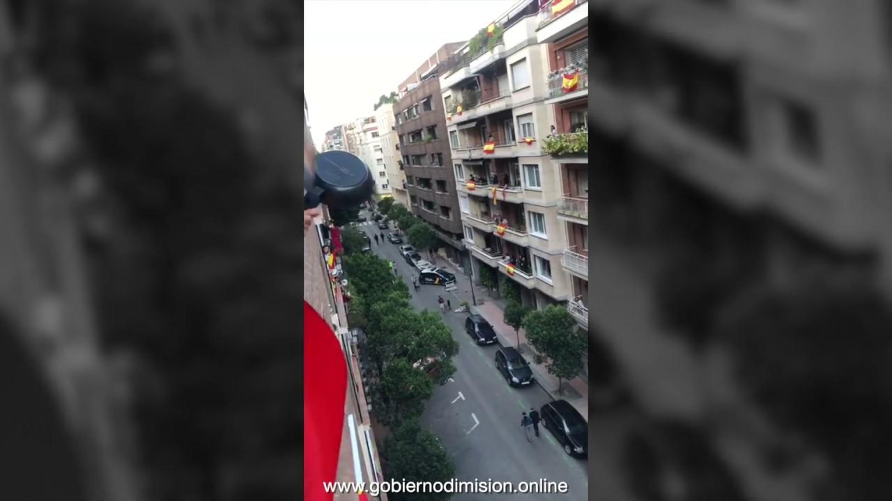 Represión chavista en pleno Madrid