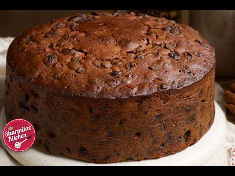 Rum Fruit & Nut Cake | Plum Cake l Traditional Christmas Cake Recipe |  Sharmilazkitchen