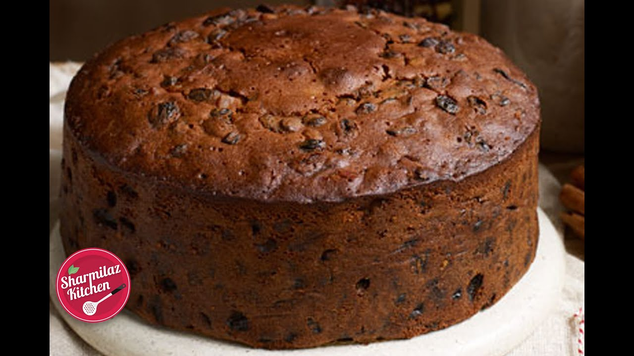 Traditional Christmas Rum Fruit Cake Recipe