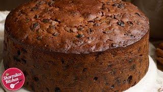 Rum Fruit &amp Nut Cake  Plum Cake l Traditional Christmas Cake Recipe   Sharmilazkitchen