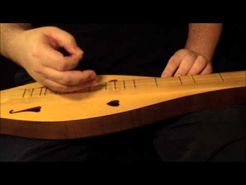 Learn to play Amazing Grace on the mountain dulcimer