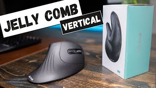 The ALMOST perfect Jelly Comb Ergonomic Vertical Mouse Review 2021
