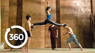 Defy Gravity In an Acrobatic Dance | Hanoi, Vietnam 360 VR Video | Discovery TRVLR thumbnail