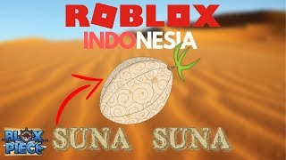 BE THE SAND MAN!! (SHOWCASE - REVIEW SAND SAND FRUIT)-ROBLOX INDONESIA #10 (BLOX PIECE)