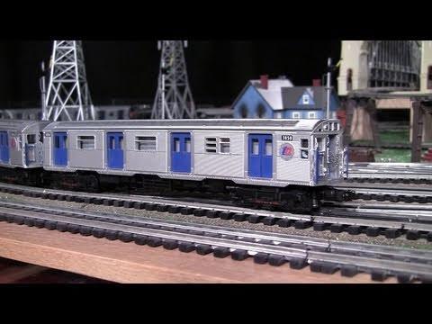 MTH Premier NYC BMT R32 O-Gauge Subway Set in True HD 1080p