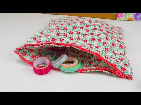 Tasche aus Stoff DIY / Stofftasche für Muttertag ganz einfach selber machen / Stofftasche DIY