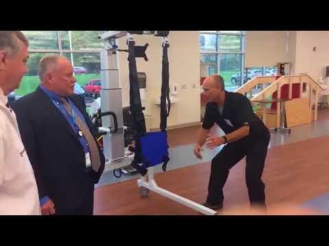 Cleveland Clinic Rehabilitation Hospital Tour