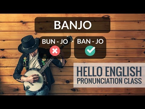 How To Say Names Of Musical Instruments In English? Hello English Pronunciation Class 37