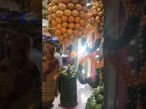Dubai fruits shop